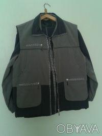 Костюм спортивный из трёх предметов (куртка, брюки, жилет) новый. Киев, Киевская область. фото 4