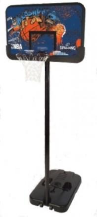 Баскетбольнтая стойка Spalding Sketch Series Composite Rectangle 44