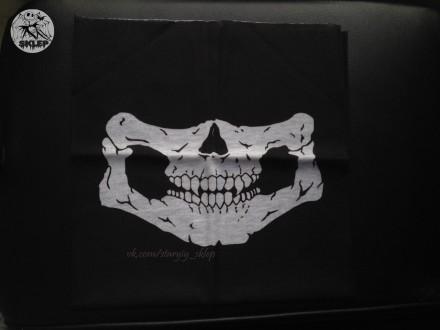 Бафф череп маска, балаклава, подшлемник, бандана. Днепр. фото 1