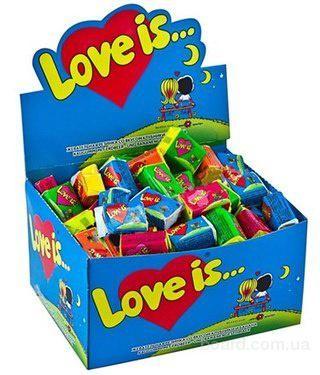 Жвачка Love is... x-dent, frogger, vampire gummy, cece bon конфеты опт. Винница. фото 1