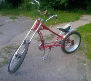 Продам велосипед чопер. Умань, Черкасская область. фото 3