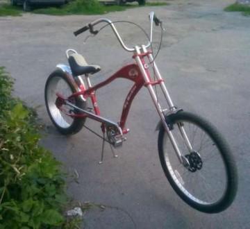 Продам велосипед чопер. Умань, Черкасская область. фото 2