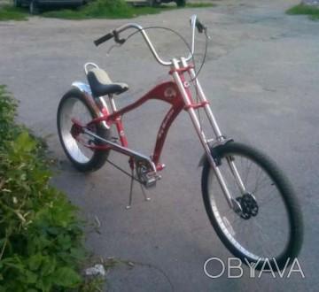 Продам велосипед чопер. Умань, Черкасская область. фото 1