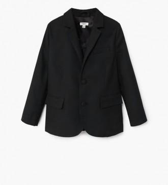 Пиджак Mango р. 5-7 лет, оригинал черный школьный,школьная форма жакет. Київ. фото 1