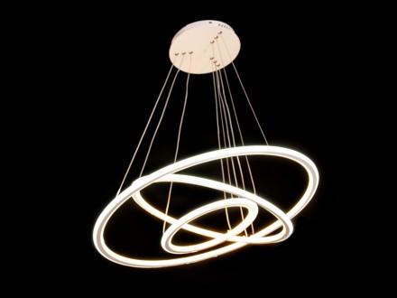 Современная светодиодная люстра подвес, 100W. Одесса. фото 1