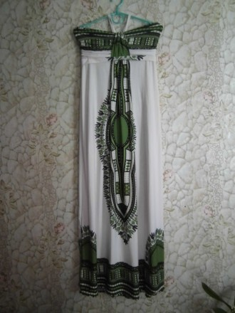 Женское летнее платье, сарафан, в пол. Александрия. фото 1
