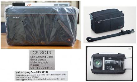 LCS-SC13: Мягкая сумка для фото-видеосистемы. Новая, запечатанная. Днепр. фото 1