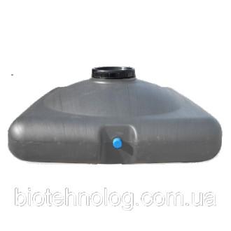 Бак для душа пластиковый 150 литров (емкость для душа) с насадкой лейкой. Киев. фото 1