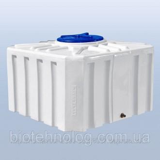 Пластиковые емкости 500 литров. Киев. фото 1