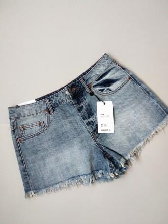 Новые базовые джинсовые шорты светлые короткие forever 21. Белая Церковь. фото 1