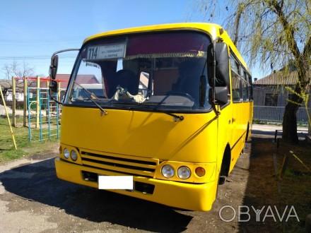 Автобус в отличном состоянии. Двигатель новый, кузов капремонт Черкассы 5 печек. Мариуполь, Донецкая область. фото 1
