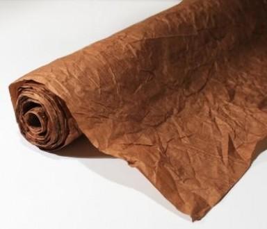 Декоративная жатая бумага 0,72х10 м/п, плотностью 100 г/м² Используется для офо. Одесса, Одесская область. фото 4
