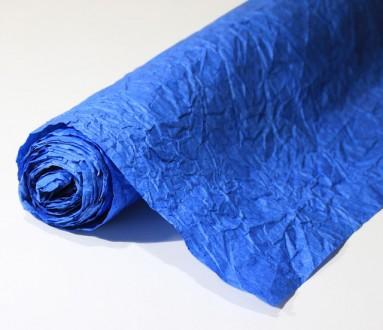 Декоративная жатая бумага 0,72х10 м/п, плотностью 100 г/м² Используется для офо. Одесса, Одесская область. фото 6
