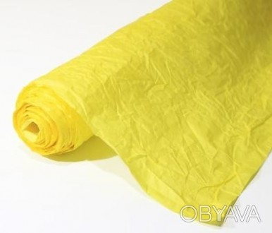 Декоративная жатая бумага 0,72х10 м/п, плотностью 100 г/м² Используется для офо. Одесса, Одесская область. фото 1