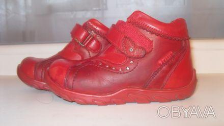 Отличные ботинки на девочку в хорошем состоянии, натуральная кожа Отправлю в лю. Одеса, Одеська область. фото 1