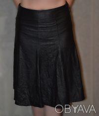 """Бренд """"NZL skirt"""". Размер 42,производство : Турция, имитация кожи. Длина 65 см,с. Одесса, Одесская область. фото 3"""