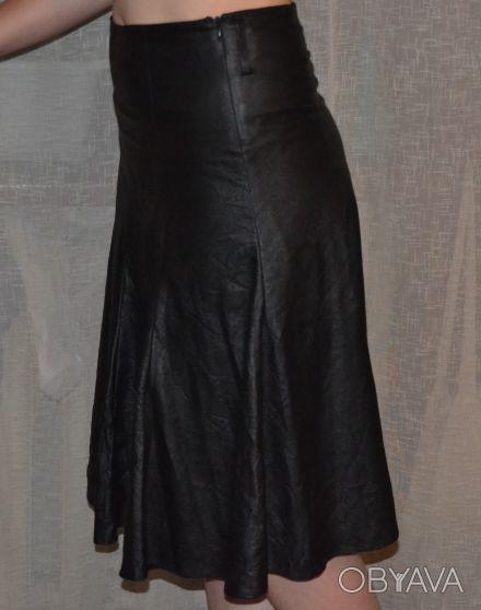 """Бренд """"NZL skirt"""". Размер 42,производство : Турция, имитация кожи. Длина 65 см,с. Одесса, Одесская область. фото 1"""
