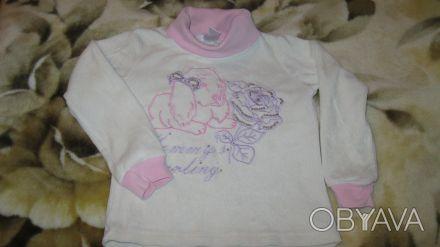 Гольфик на девочку 2,5-3,5 года - велюр, в отличном состоянии Отправлю в любую . Одеса, Одеська область. фото 1