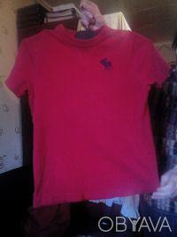 Красивенькая футболочка для мальчика 9-13 лет бренда Abercrombie Kids. 100% кото. Одеса, Одеська область. фото 2