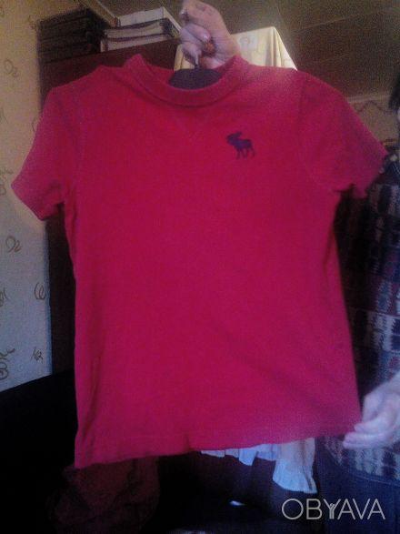 Красивенькая футболочка для мальчика 9-13 лет бренда Abercrombie Kids. 100% кото. Одеса, Одеська область. фото 1