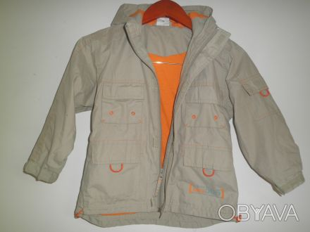 Куртка еітровка для мальчика. В отличном состоянии. Длина 51 см. Ширина в плечах. Черновцы, Черновицкая область. фото 1