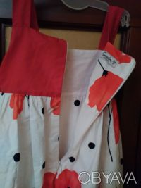 Красивое, модное нарядное платье р. 104 (на 2-4 года) Турция. Подкладка х/б. На. Киев, Киевская область. фото 5