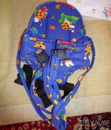 Продам детский рюкзак-переноска (кенгурушка) для детей. Состояние нового, пользо. Київ, Київська область. фото 1
