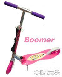 Самокат Boomer двухколесный scooter колеса 200мм - Материал: 100% Алюминиевая р. Киев, Киевская область. фото 3