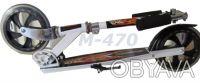 Самокат M-470 flame двухколесный scooter колеса 200 мм Материал: 100% алюминиев. Киев, Киевская область. фото 3