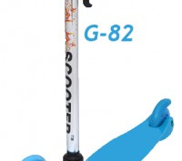 Самокат M-83 scooter trolo mini micro трехколесный регулириемая ручка руля Пово. Киев, Киевская область. фото 3
