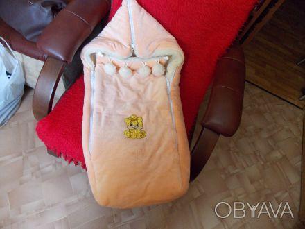 Очень удобный конверт для Вашего малыша. Конвертом не пользовались, т.к. приобре. Одеса, Одеська область. фото 1