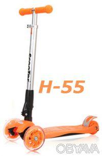 Самокат Trolo Maxi Micro H-55 с наклоном руля складной scooter - Устойчивая и н. Киев, Киевская область. фото 5