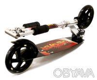 Самокат F-490 двухколесный scooter колеса 200 мм - Материал: 100% Алюминиевая р. Киев, Киевская область. фото 3