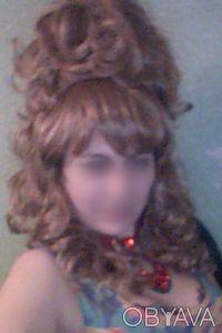 Продам интересный женский  парик, покупала на юбилей, один раз одет. Отдам за 7. Чернигов, Черниговская область. фото 5