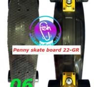 Пенни 22-GR penny print лонгборд скейт 56 см fish cruiser skate board Размер: 2. Київ, Київська область. фото 7