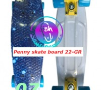 Пенни 22-GR penny print лонгборд скейт 56 см fish cruiser skate board Размер: 2. Київ, Київська область. фото 8