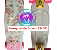 Пенни 22-GR penny print лонгборд скейт 56 см fish cruiser skate board Размер: 2. Київ, Київська область. фото 4