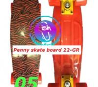 Пенни 22-GR penny print лонгборд скейт 56 см fish cruiser skate board Размер: 2. Київ, Київська область. фото 6