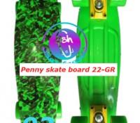 Пенни 22-GR penny print лонгборд скейт 56 см fish cruiser skate board Размер: 2. Київ, Київська область. фото 3