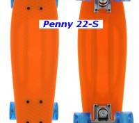 Скейт Penny 22-S skate board Cruiser Fish пенни 56 см светящиеся колеса Размер:. Киев, Киевская область. фото 7