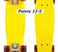 Скейт Penny 22-S skate board Cruiser Fish пенни 56 см светящиеся колеса Размер:. Киев, Киевская область. фото 10