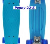 Скейт Penny 22-S skate board Cruiser Fish пенни 56 см светящиеся колеса Размер:. Киев, Киевская область. фото 3