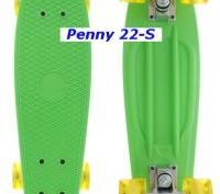 Скейт Penny 22-S skate board Cruiser Fish пенни 56 см светящиеся колеса Размер:. Киев, Киевская область. фото 5
