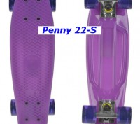 Скейт Penny 22-S skate board Cruiser Fish пенни 56 см светящиеся колеса Размер:. Киев, Киевская область. фото 6