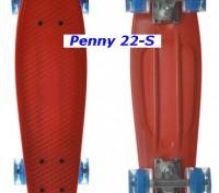 Скейт Penny 22-S skate board Cruiser Fish пенни 56 см светящиеся колеса Размер:. Киев, Киевская область. фото 9