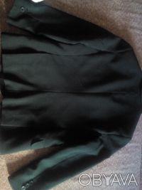 Пиджак школьный темно- зелёного цвета в хорошем состоянии. Есть нюанс немного р. Киев, Киевская область. фото 4