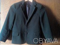Пиджак школьный темно- зелёного цвета в хорошем состоянии. Есть нюанс немного р. Киев, Киевская область. фото 2