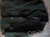 Пиджак школьный темно- зелёного цвета в хорошем состоянии. Есть нюанс немного р. Киев, Киевская область. фото 3