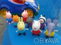 Набор фигурок:  щенок Дени , кролик Ребекка , овечка Сьюзи , зебра Зоя , котик . Дніпро, Дніпропетровська область. фото 9