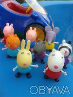 Набор фигурок:  щенок Дени , кролик Ребекка , овечка Сьюзи , зебра Зоя , котик . Днепр, Днепропетровская область. фото 10